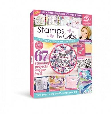 Stamps By Chloe Cardmaking Collection Magazine 1 Die Embossing Folder And More