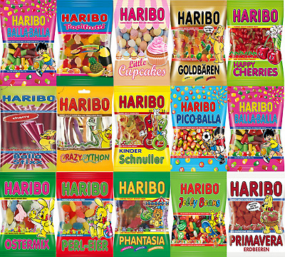 Haribo Sweets Birthday Gifts Weddings Partys All Candy Bags  200g & 170g & 75g