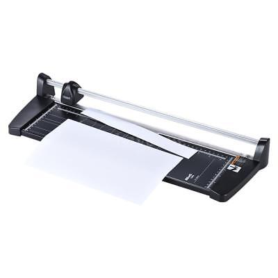 A3 Guillotine Rotary Ruler Paper Cutter Trimmer 10 Sheet Cutting Office L0X7