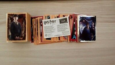 lotto 240 figurine panini HARRY POTTER e i doni della morte