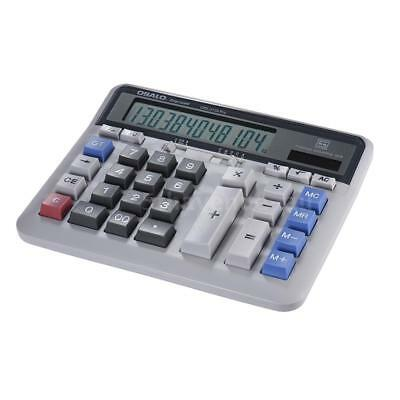 Large Computer Electronic Calculator Counter Solar & Battery Power 12 Digit X2E6