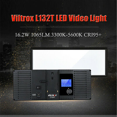 VILTROX L132T Photo Studio LED Video Light Fill Light For DSLR Camera Camcorder