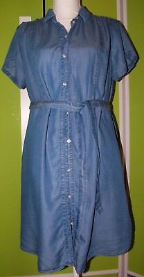 H&M Mama Umstandsbluse Jeans Bluse   Gr. M