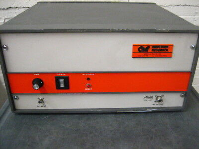 Amplifier Research 100A100 Self Contained Broadband Rf Amp 1 Khz -100Mhz 100W