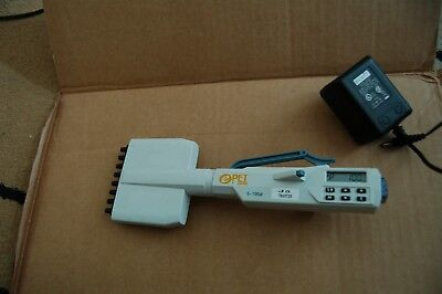 BioHit epet  multichannel pipette pipet  electronic  100 ul charger  8 digital