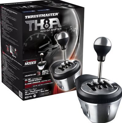 Thrustmaster Gearbox TH8A Add-On 9PS4 PS3 Gear Shifter PC Xbox One Video Game