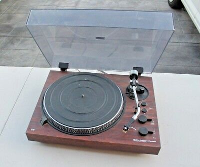 Vintage MCS 6500 belt drive, semi-auto turntable w/cartridge for parts or repair