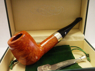 Peterson House Pipe Billiard Natural P-Lip with FREE pipe Tool