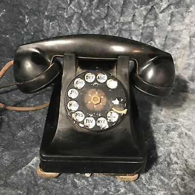 Antique vintage western electric bell telephone