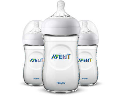 Philips Avent BPA Free Natural Anti-Colic 9oz Baby Bottle - 3 Pack