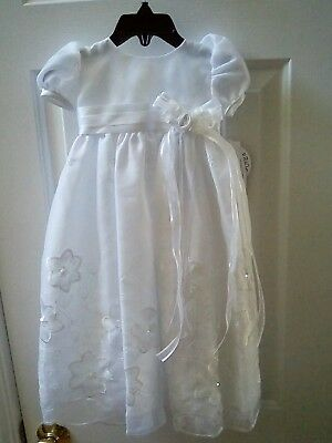 Infant Christening Dress Size 0-3 Months NWT