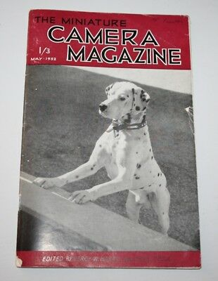 The Miniature Camera Magazine, May 1952 - Pictorial Lighting