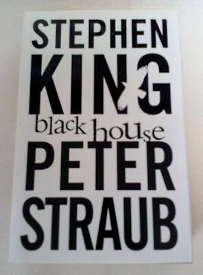 Black House by Stephen King and Peter Straub (Hardback, 2001) UK First Edition