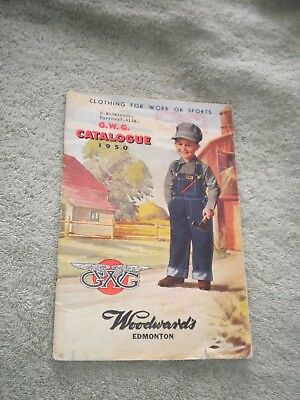 Antique Original 1950 GWG Catalogue - Clothing Coveralls Overalls Denim - L@@K