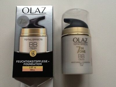 """Olaz Total Effects 7in1 BB Cream LSF15 """"hell"""", 50 ml"""