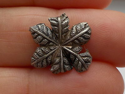 Medieval Silver Clothes Fitting Metal Detecting Find