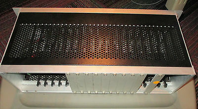 Promicon Systems 19-Slot Card Rack 24V Dc W/ 10 Blank Plates Sbr-19, Cnc-Automat