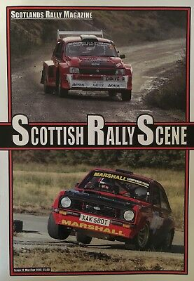 Scottish Rally Scene Magazine - Issue 12 - March 2018