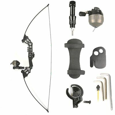 40LB Archery Bowfishing Fishing Reel Takedown Recurve Bow RH Hunting Fish Set