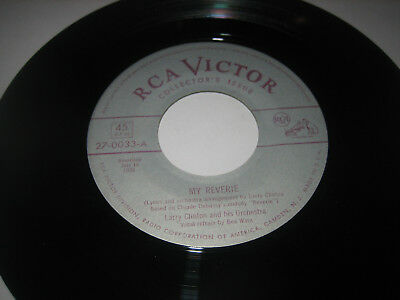 """7"""" Larry Clinton: My Reverie - USA RCA Victor 27-0033"""