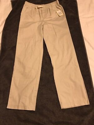 368f012e5 Faded Glory Boy's Pull-On Draw-String Casual Pants Size Large (10-