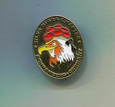 Silva Nigra Chapter Schramberg Motorcycle  Pin