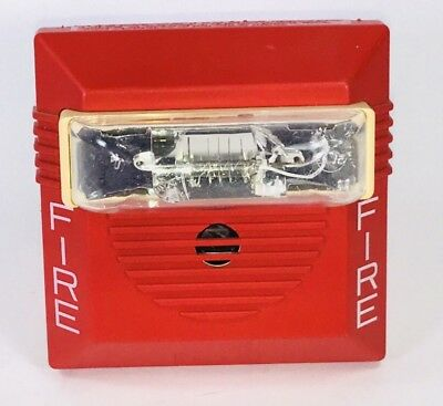 Wheelock Fire Alarm Audible Horn Strobe Model NS4-241575W Industrial #1/Many