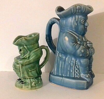 2 Toby Jugs No 3 Made in England