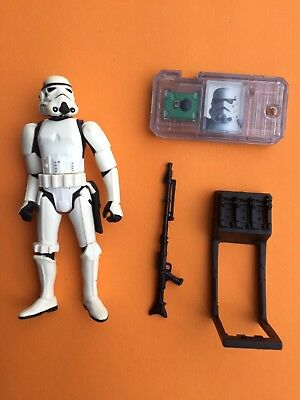 STORMTROOPER (with Battle Damage/The Power Of The Force 2/1999/Comm Tech) Hasbro
