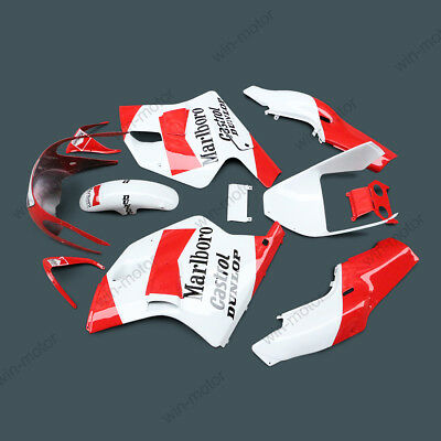 ABS Fairing Bodywork Set kit fit For yamaha tzr250 tzr 250 3ma red+white 88 90
