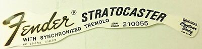 Fender Stratocaster 1968-1971 Decal