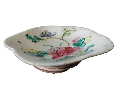 Antique Chinese Export Porcelain famille Rose  Bowl