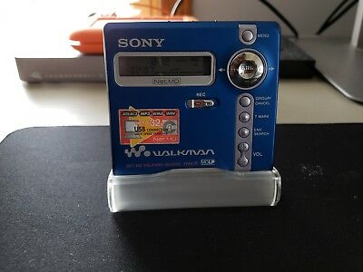SONY WALKMAN Mini Disc Player Portable Digital Recorder Net MD MZ-N707 Type-R