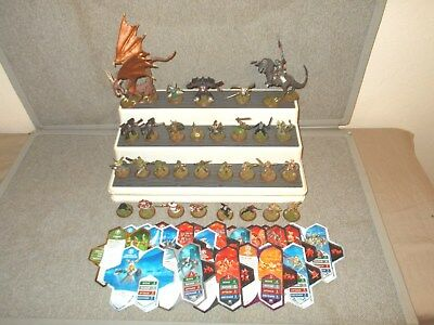 Lot Heroscape Rise of the Valkyrie Combat Figures & Army Cards **Complete Set**