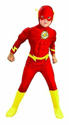 The Flash Deluxe Muscle Chest Costume for Kids