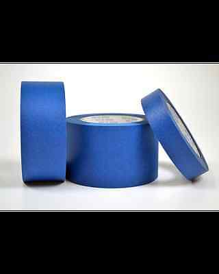 """2""""x180' PREMIUM BLUE PAINTERS TAPE - PRESTO TAPE- MADE IN USA-NO STICKY RESIDUE!"""