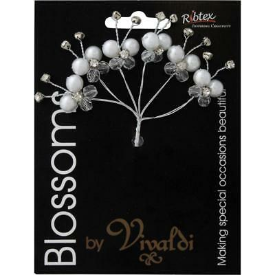 NEW Vivaldi Blossoms 6 Head Butterfly Foam Spray By Spotlight
