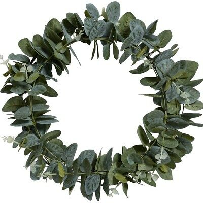 NEW Eucalyptus Leaves Wreath By Spotlight
