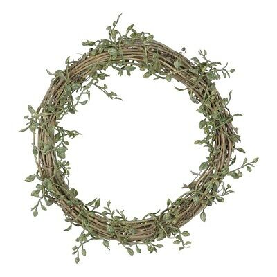 NEW Mini Leaf Twig Wreath By Spotlight