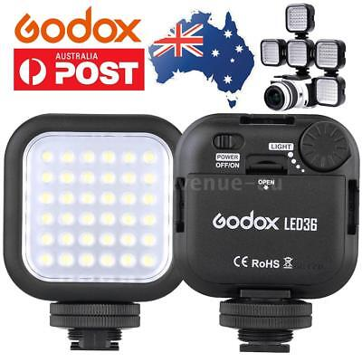 Godox 36 LED Video Light Panel Fill Lamp Bulbs for DSLR Camera Camcorder DV