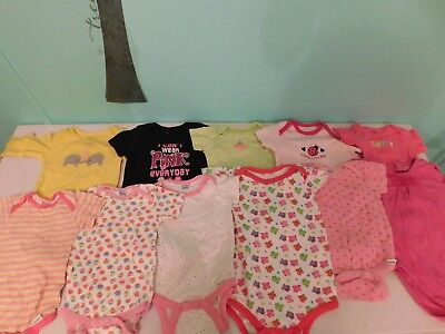 Lot 5Y 6-9 Months Infant Clothing (One Peices)