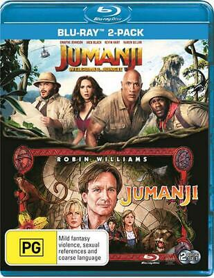 Jumanji / Jumanji - Welcome To The Jungle | Franchise Pack - Blu Ray Region B Fr