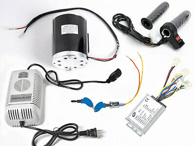 1000 W 48 V motor+Reverse speed controller+keylock+Charger+Throttle w Rev switch