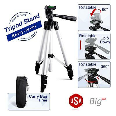 Professional Tripod Monopod 360° Ball Head QR Plate for Travel Camera Camcorder