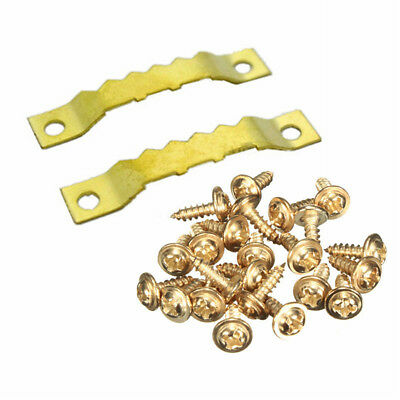100X Golden Hanging Picture oil Painting Mirror Frame Saw Tooth Hooks Hangers