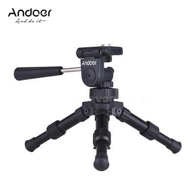 Andoer Portable Mini Tabletop Tripod Stand +Tilt Head for Canon Nikon Sony DSLR