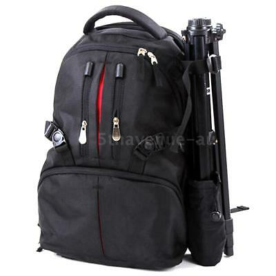 SLR DSLR Camera Bag Case Backpack Water/Shock-Resistant For Canon SONY Nikon AU