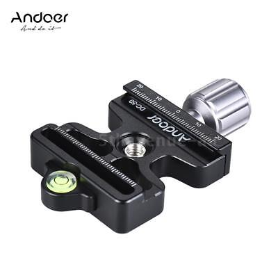 Pro Quick Release Clamp Slide Plate Adapter System for Arca Swiss Manfrotto I2O0