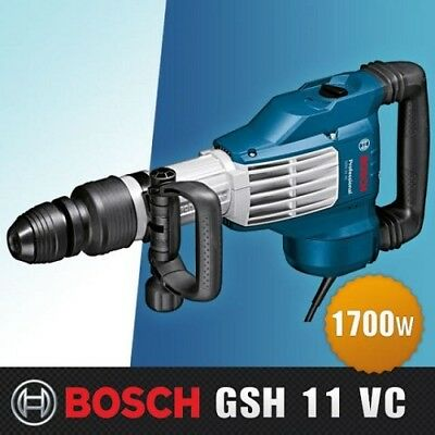 [Bosch] Demolition Hammer With Sds-Max Professional #gsh11Vc/1,700W
