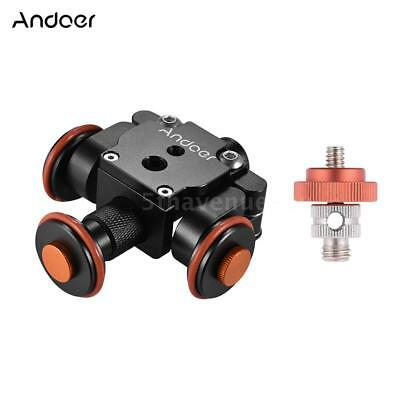 Andoer Electric Motorized Camera Dolly Video Slider Stabilizer GoPro DSLR Camera
